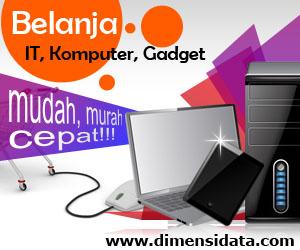 Dimensidata.com belanja IT online, murah dan cepat